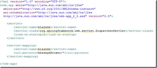 Modifying the Deployment Descriptor web.xml file